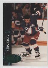1992-93 Parkhurst Emerald Ice #442 Kris King Winnipeg Jets Hockey Card