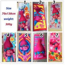 Trolls girls kids Bath Beach pool hoodie Towel 100% cotton toddler xmas AU stock