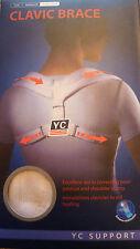 Soporte de Hombro postura espalda calvic Brace Cinturón Lesiones Deportes discreto Corrector