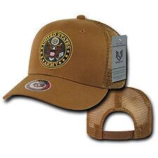 Trucker Baseball Caps Mesh Cap Classic Military star navy seal usmc marine Dog