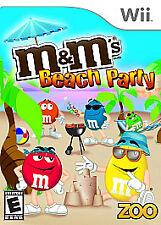 M&M's Beach Party (Nintendo Wii, 2009)- In Original Case
