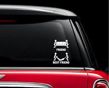 Best Friend Car Stickers For Auto Vehicle Window Vinyl Waterproof Decals