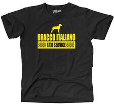 TYC T-shirt BRACCO ITALIANO Taxi Service CANI CANE Fun siviwonder