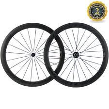 Superteam Wheelset 50mm Depth Road Bike In USA Bitex R13 Hub Bicycle Wheel 1 Set