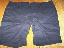 Juniors Arizona Jean Company Bermuda Shorts Size 15 17 Ladies Womens Navy Blue