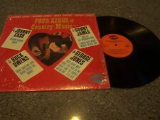 "Cash/Owens/Jones/James ""Four Kings Of Country Music"" LP"