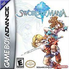 Sword of Mana  (Nintendo Game Boy Advance, 2003)**Cartridge Only**Free Shipping
