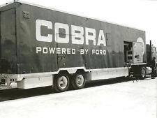 Vintage 8 X 10 1963 Sebring Shelby Cobra Transporter