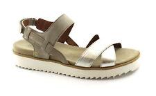 BENVADO FRANCY 36005008 beige argento sandali donna pelle strappo platform