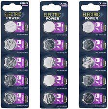 Electric Power Lithium CR2032 CR2016 CR2025 Knopfzellen Batterien Uhrenzellen