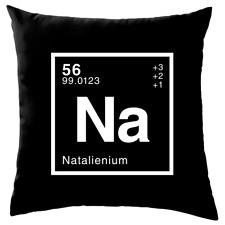 "NATALIE - Periodic Element - Cushion - (16"") - Science - Nerd - Geek-8 Colours"