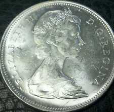 1966 Canada Silver Dollar BU Cameo Proof-like from an original roll