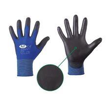 PU Handschuhe Gr.7  Montagehandschuhe Gartenhandschuhe Mechanikerhandschuhe blau