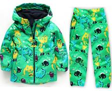 2pcs Toddler Baby Boys wind-proof / rain-proof Hooded Coat +pants Clothes set