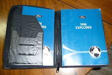 1996 Ford Explorer Owner's Guide Maintenance Book
