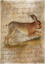 BÜGELBILD-Vintage-Shabby-Nostalgie-Hase-Ostern-Easter-Hase-3242