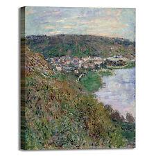 Monet veduta di Vétheuil design quadro stampa tela dipinto telaio arredo casa