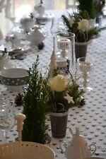 Lovely Decorative Cotton Table Cloth 135x225cm / 4 Napkins 40x40cm