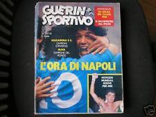 GUERIN 1987: MARADONA E C. NAPOLI CAMPIONE D'INVERNO