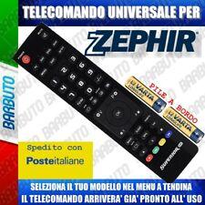 TELECOMANDO UNIVERSALE ZEPHIR; CLICCA SUL TUO MODELLO E LO RICEVERAI GIA PRONTO