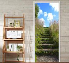 3D Ladder, grass 4 Door Wall Mural Photo Wall Sticker Decal Wall AJ WALLPAPER CA