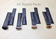 20mm/22mm Genuine Leather Strap For Tag Heuer Monaco Carrera Alligator/Crocodile