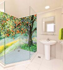 3D kumquat Tree 42 WallPaper Bathroom Print Decal Wall Deco AJ WALLPAPER AU