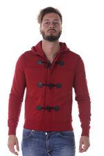 Felpa Armani Jeans AJ Sweatshirt Hoodie -25% Uomo Rosso 6Y6M686JEBZ-1456