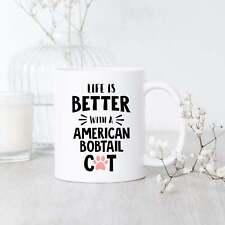 American Bobtail Cat Mug American Bobtail Cat Mug American Bobtail Cat Gift