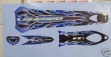 Sherco hasta 2005 Completo azul calcomanía / Sticker Set.