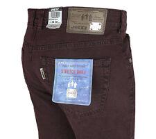 Pantalones Vaqueros de Joker Clark (confort fit) 3401 / rojo vino