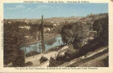 cpa POITIERS 928 vallée du clain route de paris