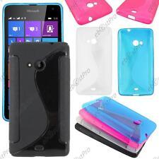 Housse Etui Coque Silicone Motif S-line Gel Souple Microsoft Nokia Lumia 535