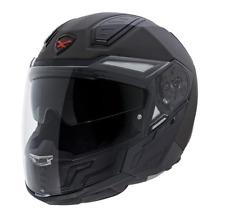 NEXX X.40 Plain Black MT X40 Transforming Full Face & Open Motorcycle Helmet NEW
