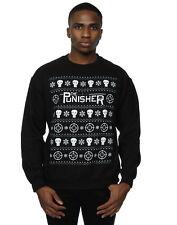 Marvel Men's Punisher Christmas Sweatshirt