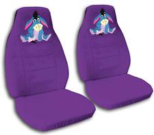cute set eeyore front car seat covers purple ,MORE COLORS&BACK SEAT COVER AVBL