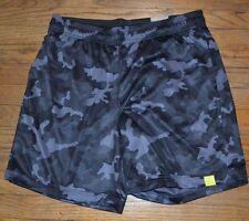 Tek Gear Performance Basketball Short Wicking CoolTek Fabric Dk Gray Camo Shorts