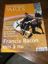 Connaissance des arts N°615 Montagnes célestes Watteau Bacon Rubens Palerme