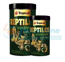REPTILES HERBIVORE Complete FOOD for herbivorous  omnivorous reptiles TROPICAL
