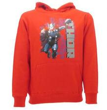 Felpa Thor Originale con cappuccio Rossa Marvel Original Sweat Sweatshirt