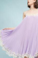 NWT Anthropologie Pleated Slip Dress Moulinette Soeurs/ XS,S