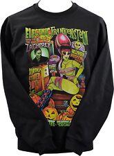 Unisex Sudadera Johnny as eléctrico Horror Monstruo de Frankenstein Zacherle XS-7X