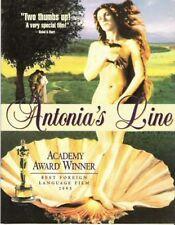 ANTONIA'S LINE LESBIAN FILM TRIFOLD BROCHURE