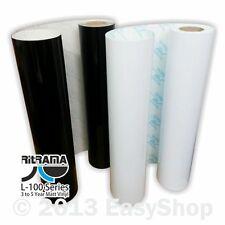610mm Ritrama L-100 Matt Self Adhesive Sign Vinyl Black or White Sticky Plastic