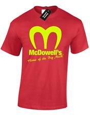 McDowell'S Da Uomo T-Shirt Retrò arrivando in America Retrò MOVIE FILM ANNI'80 vintage