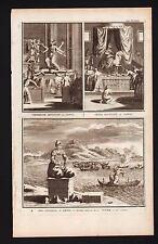 Grabado en Picart 1728 AMIDA DEIDADES DEL TOYODA