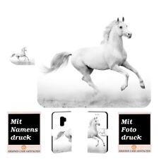 Samsung Galaxy S9 Personalisierte Handy Hülle Tasche mit Pferd Foto Text Druck