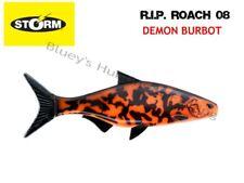 Storm soft plastic R.I.P Roach 08 21cm unrigged fishing Lure;DEMON BURBOT