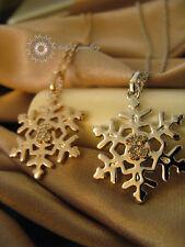 Crystal/Snowflake Pendant&Neckla/Earring/RGN416/E377