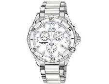 New Citizen Ladies White Ceramic Diamond Eco-Drive Watch FB1230-50A